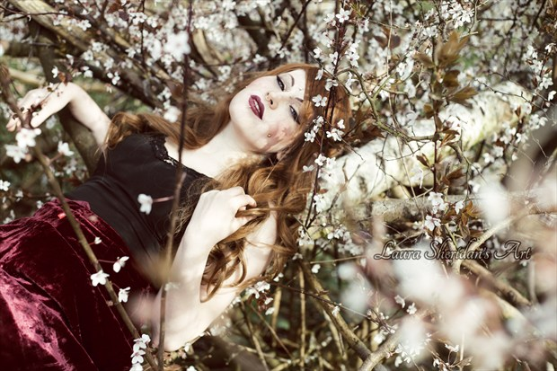 Child Of The Spring Fantasy Artwork by Photographer Laura Sheridan's Art