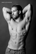 Chiseled Glamour Photo by Photographer Brandon Rudich