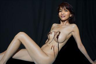 Chocolae Sundae Artistic Nude Photo by Photographer DanWynnePhotography