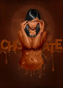 Chocolate Photo Manipulation Photo by Artist RAFIDO