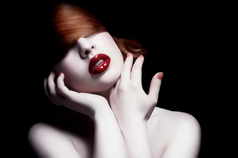 Chris Riccio Close Up Photo by Model Helen Stephens