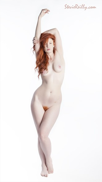Chrissie Red Artistic Nude Photo by Photographer StevieReilly.com