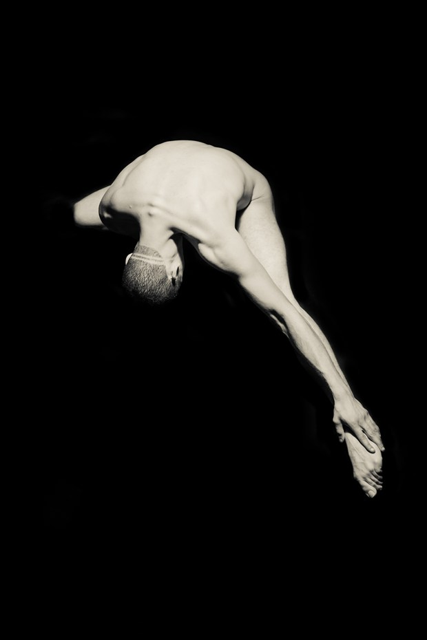 Christian 2 Artistic Nude Photo by Artist Freddie Graves