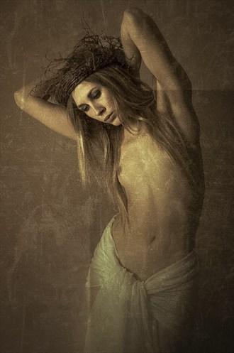 Christmas Artistic Nude Photo by Photographer Karen Jones
