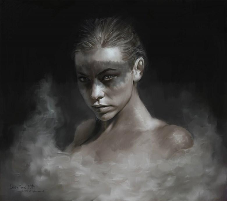 Cigno Nero (Black Swan) Alternative Model Artwork by Model Riccella