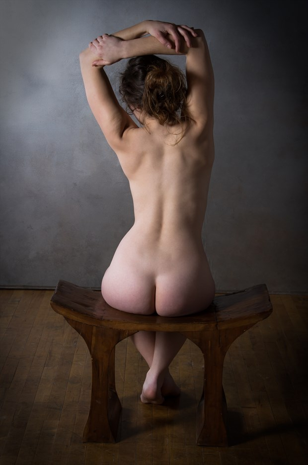 Classic Seated Nude Artistic Nude Photo by Photographer Risen Phoenix