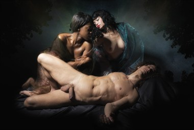Classical Artistic Nude Photo by Photographer Terry Slater