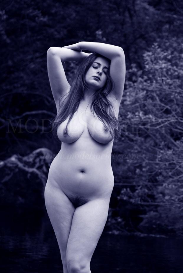 Classical Blue Artistic Nude Photo by Photographer Seanartphoto