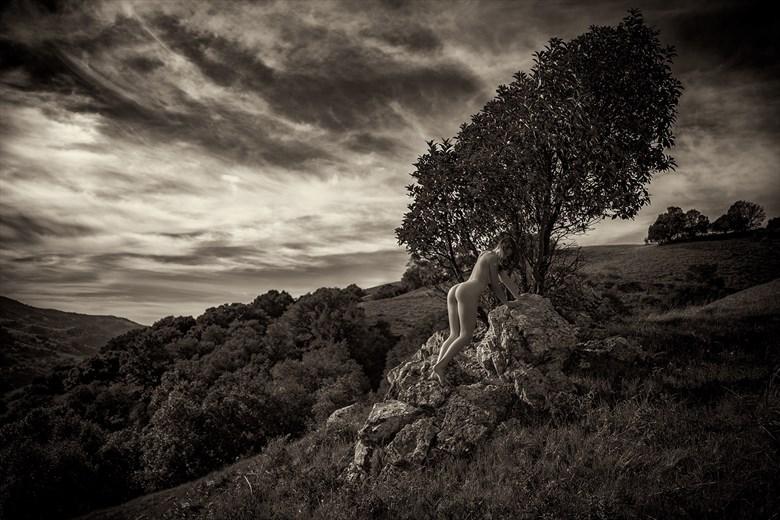 Climb Artistic Nude Artwork by Photographer Dan West