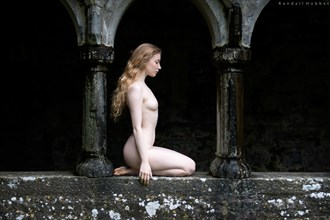 Cloistered Artistic Nude Photo by Photographer Randall Hobbet
