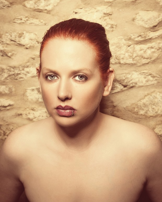Close Up Implied Nude Photo by Model  Pinklilith