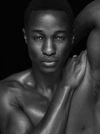 Close Up Photo by Model Paul Osei