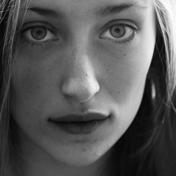 Close Up Portrait Photo by Model Eleanor Kathryn