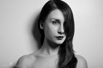 Close Up Portrait Photo by Model Peliroja