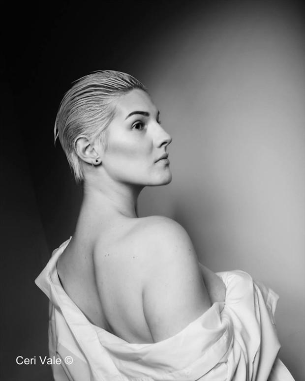 Close Up Studio Lighting Photo by Model Adara Saeth