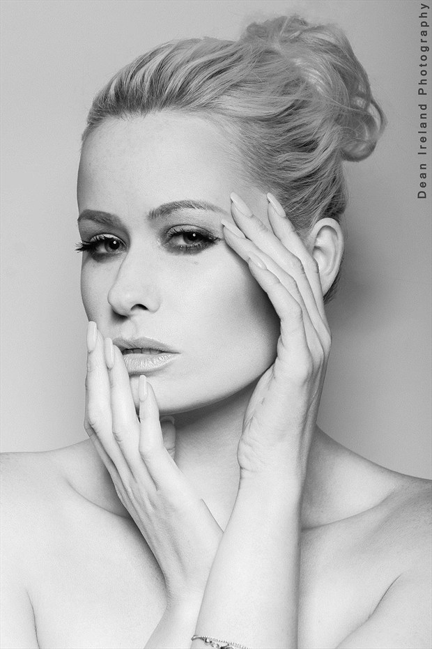 Close Up Studio Lighting Photo by Model Laura Lily