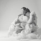 Cloud Angels Studio Lighting Photo by Photographer Rascallyfox