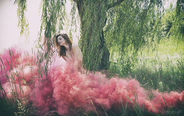 Cloud Dress Artistic Nude Photo by Photographer DKnight