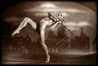 Clownin' Artistic Nude Photo by Model Miss Anya