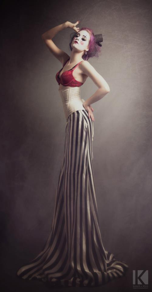 Clowny Clown II Surreal Photo by Model TristinVitriol