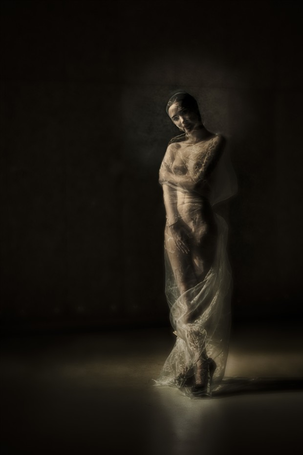 Cocoon Artistic Nude Photo by Photographer Ron Vargas