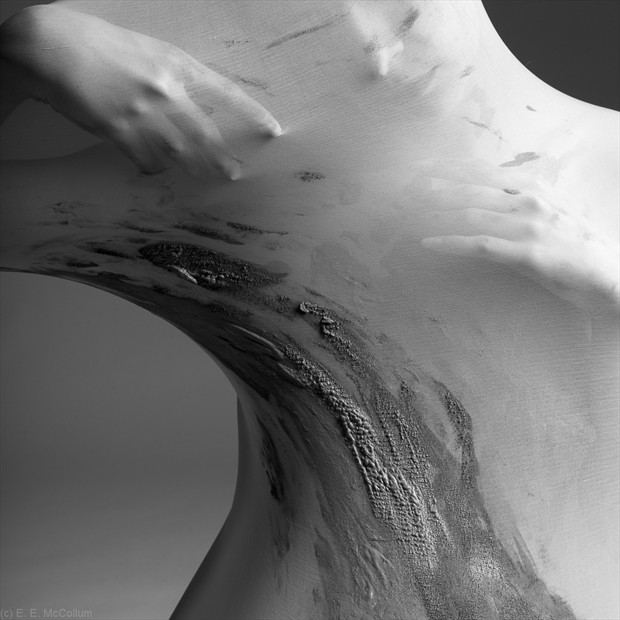 Cocoon Series %2384 Implied Nude Photo by Photographer E. E. McCollum