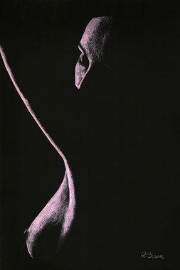 Coercion Artistic Nude Artwork by Artist Richard Young