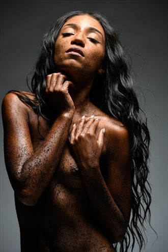 Coffee  Artistic Nude Photo by Model Aly Jhene