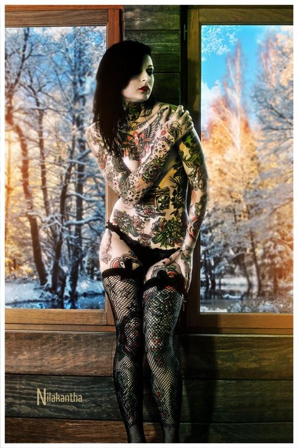 Cold Warm Tattoos Artwork by Photographer Nilakantha