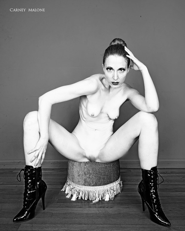 Cold stare in fetish heels Fetish Photo by Model Mimsey