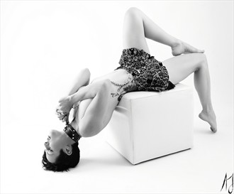 Collared  Artistic Nude Photo by Photographer Aaron J Jenkins