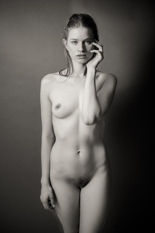Collette Nude Portrait  Artistic Nude Photo by Photographer Risen Phoenix