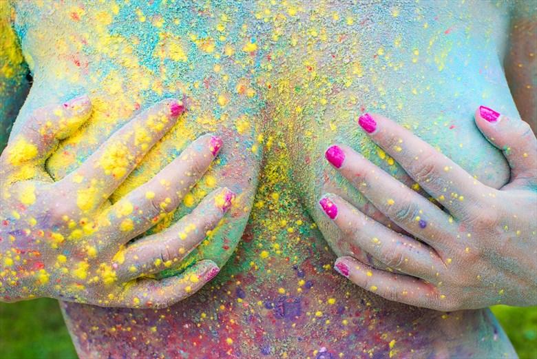Color Dust   Kel12 Artistic Nude Photo by Model Kellee Marie11