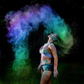 Color Dust   Kel13 Surreal Photo by Model Kellee Marie11