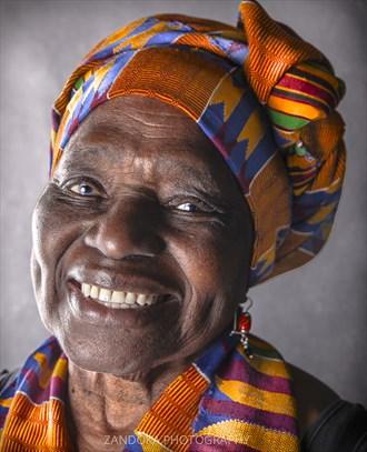 Colors of The World Portrait Artwork by Photographer ZANDOKA