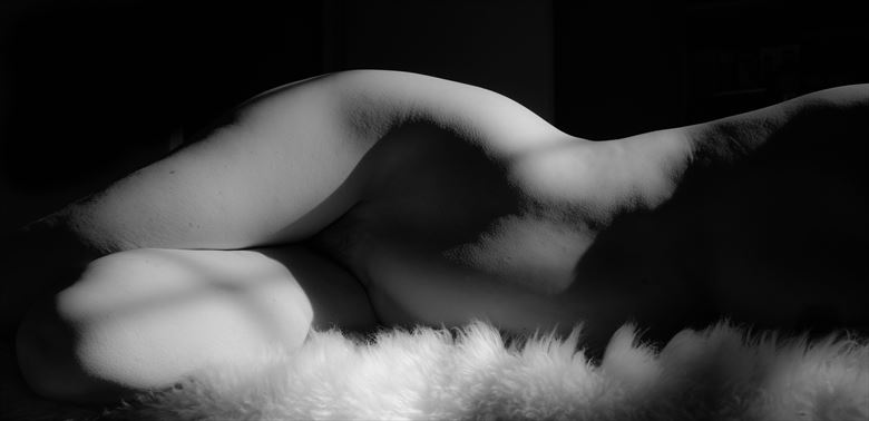 Comfort in Shadows Artistic Nude Photo by Photographer Daylight Evocation