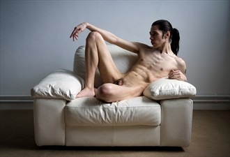 Comfy couch Artistic Nude Photo by Model Cocaine James