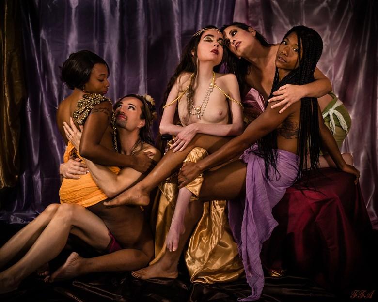 Communitas in Ecstasis Artistic Nude Photo by Model Jocelyn Woods