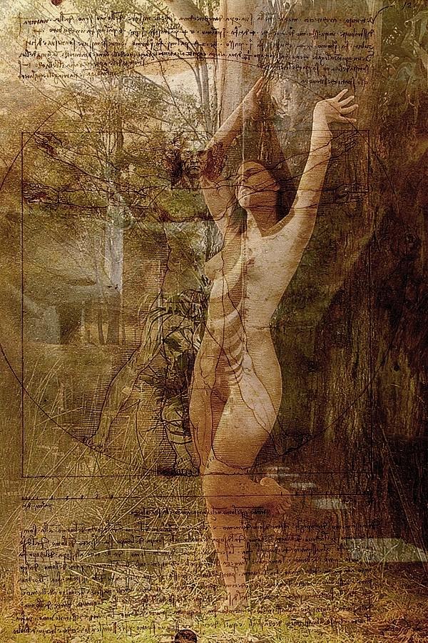 Conceptual %235 Artistic Nude Artwork by Photographer Beau