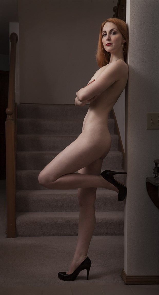 Confidence in Heels Artistic Nude Photo by Model Mimsey