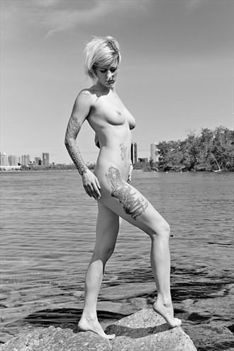 Consideration Artistic Nude Photo by Photographer Daddy Dan