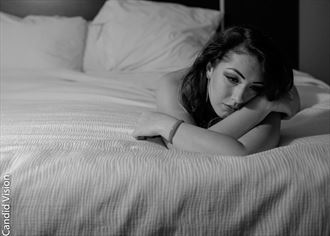 Contemplating Figure Study Photo by Photographer Candidvision