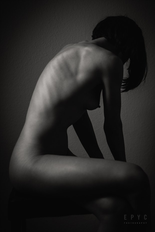 Contemplation Artistic Nude Artwork by Model Aristodeme