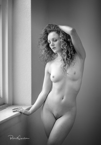 Contemplation in the window light Artistic Nude Photo by Photographer Richard Spurdens