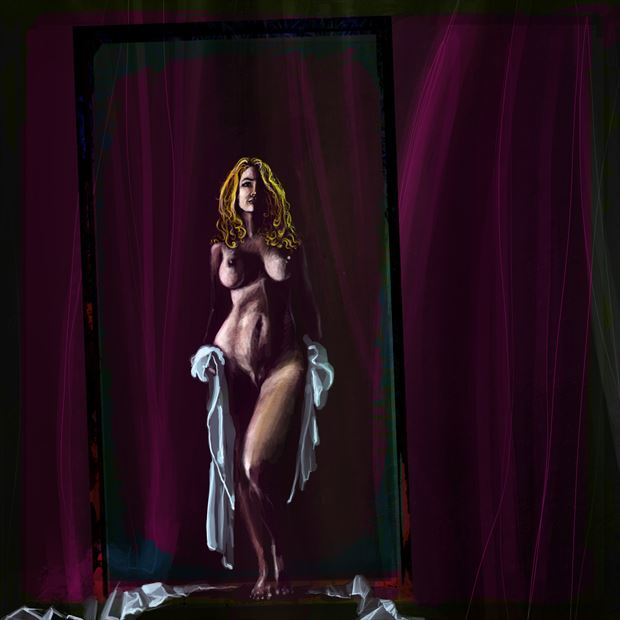 Contrast 4 Artistic Nude Artwork by Artist NKozis
