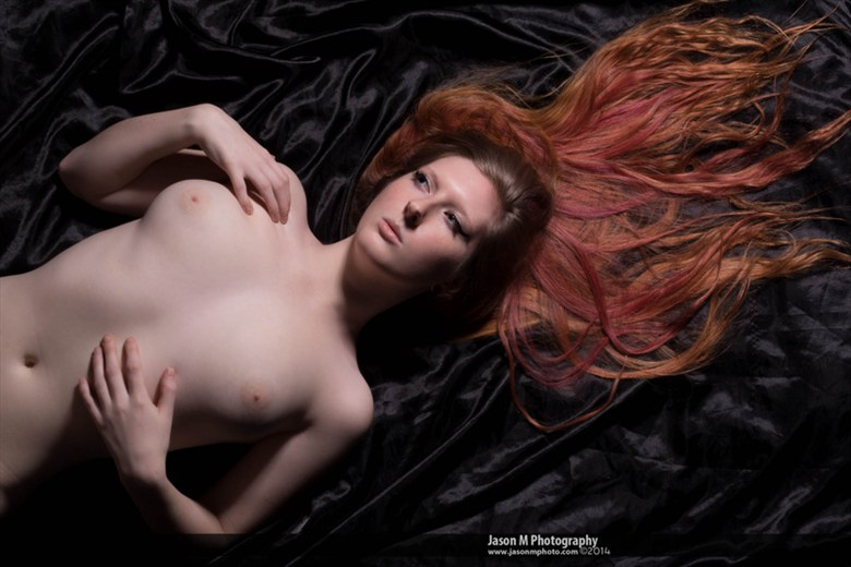 Contrast Artistic Nude Artwork by Model Winry Rose