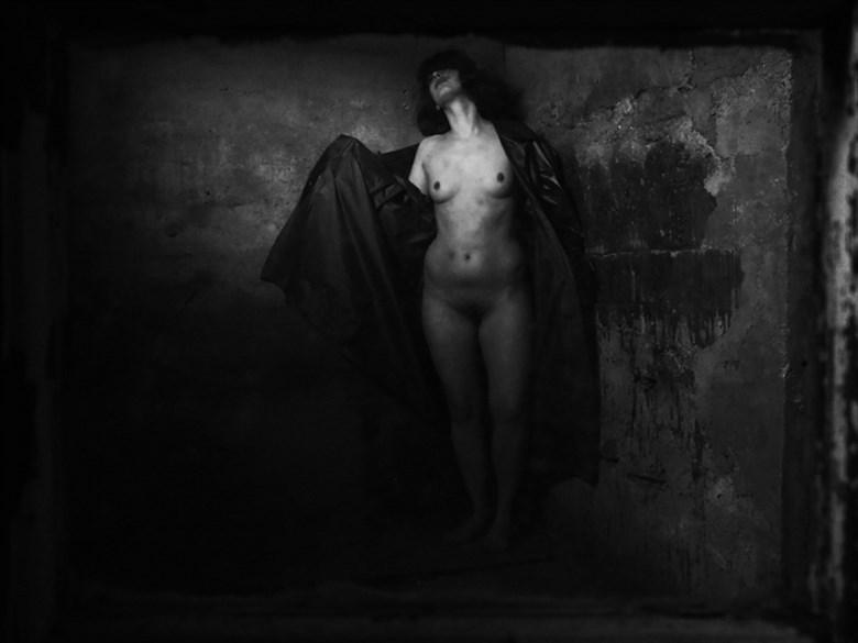 Copyright Henri Senders Artistic Nude Artwork by Model Charlotte Blanco