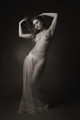 Corinthian Artistic Nude Photo by Photographer Mick Waghorne