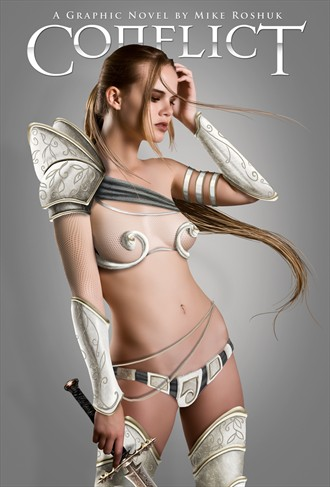 Cosplay Fantasy Artwork by Model Damianne