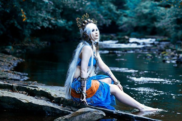 Cosplay Nature Photo by Model Amber Skyline